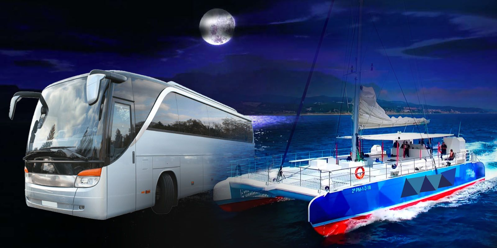 Bus Barco privado y disco