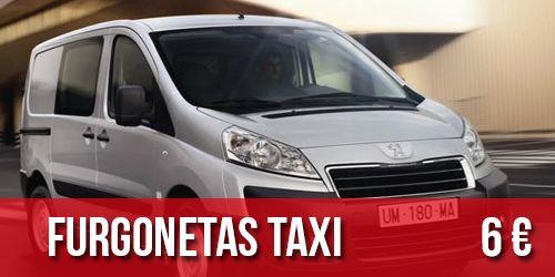 Furgonetas taxi