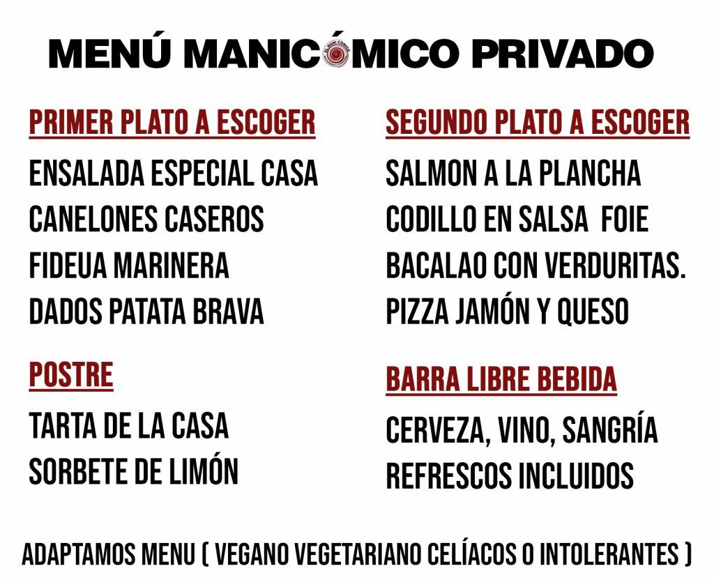 Restaurante privado y disco
