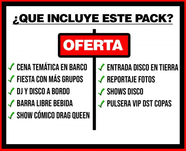 PACK 1 BARCO FESTIVAL + DISCO