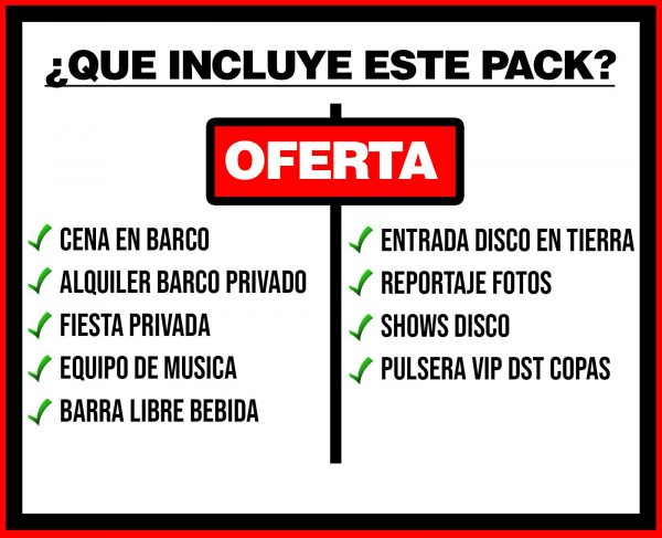 PACK 1 BARCO PRIVADO+d