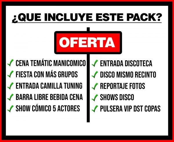 PACK 1 MANICOMICO + DISCO