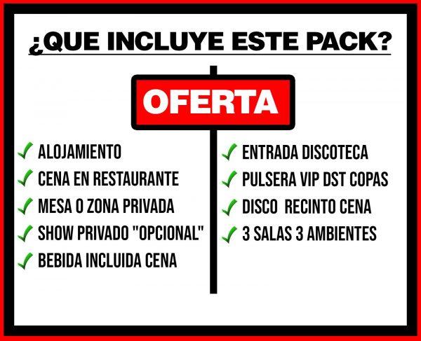 PACK 2 ALOJAMIENTO+rp+d
