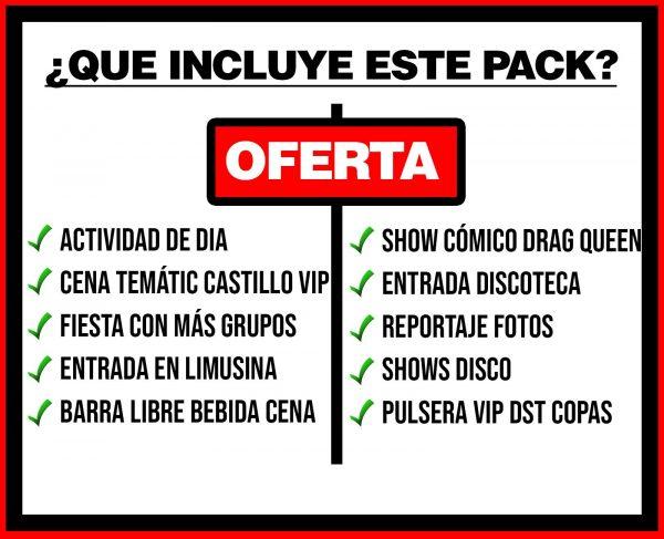 PACK 4 ACTIVIDAD DE DIA + CASTILLO + DISCO