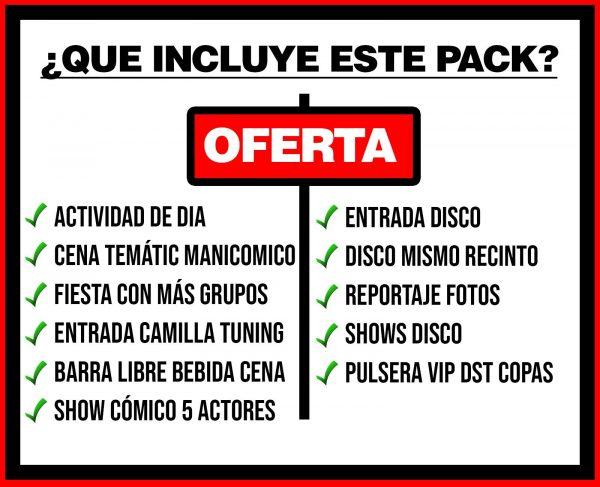 PACK 4 ACTIVIDAD DE DIA + MANICOMICO + DISCO